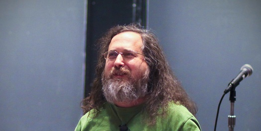 Richard Stallman; License: Creative Commons Attribution-Share Alike Some rights reserved by jeanbaptisteparis