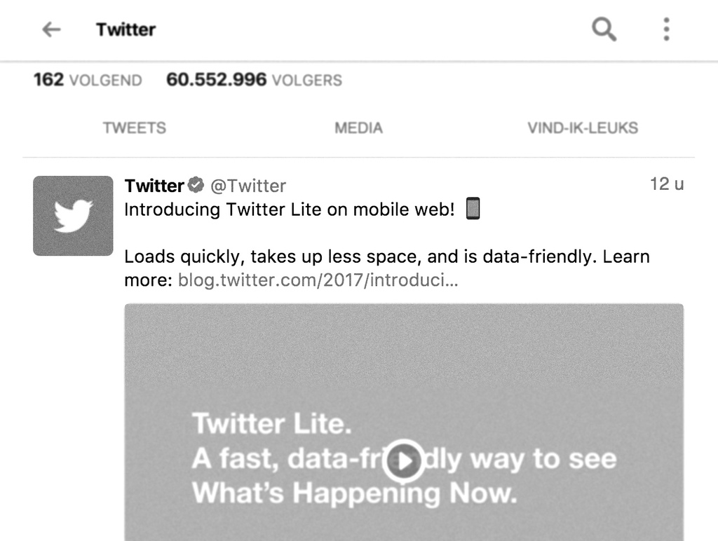 Twitter launches a new web app